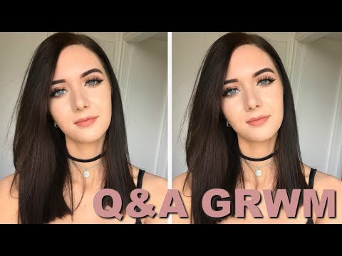 Q&A GRWM (Everyday Glam Makeup) // ItsGeorginaOkay