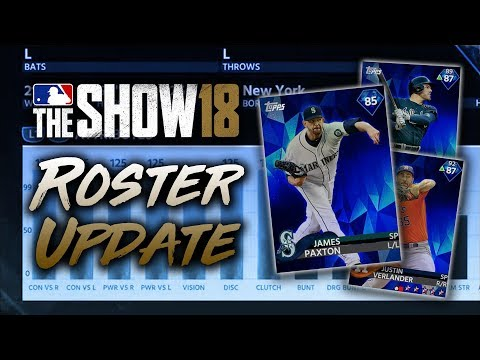 James Paxton to DIAMOND! June 8th Roster Update! MLB The Show 18 Diamond Dynasty