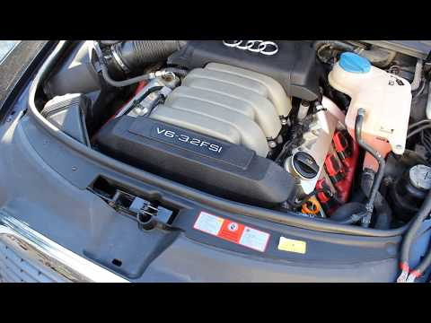 2004-2011 Audi A6 3.2 V6 Quattro Intake Manifold Vacuum Lines CODES P2006 P2404
