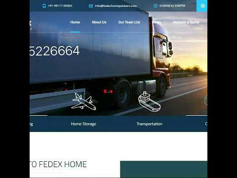 Fedex Packers and Movers 9555226664