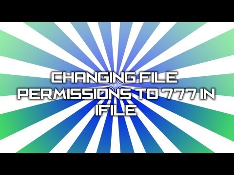 How To : Change File Permissions to