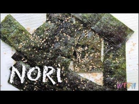 What Is Nori? / How to Make Salmon Hand Rolls Recipe
