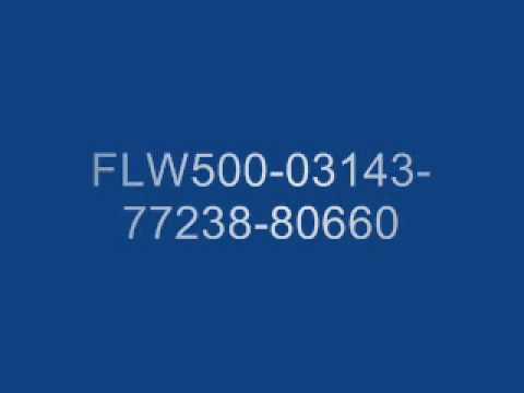 various software keys / codes