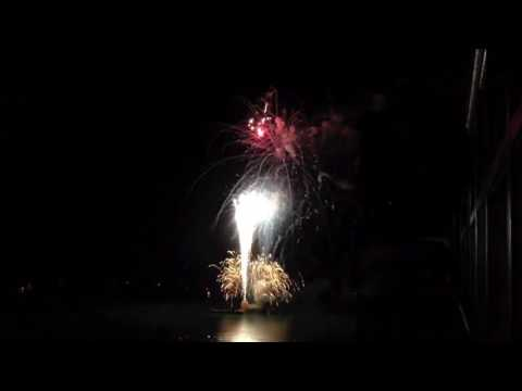 July 4th 2012 Fireworks   Shot from the 19th Floor on Marco Island Florida
