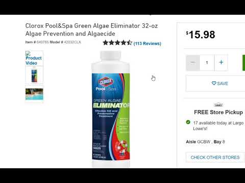 Pool Tipp No 1: Why You Should Add Algae Eliminator Every Week in Your Swimming Pool