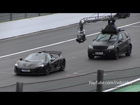 Top Gear with the Mclaren P1!