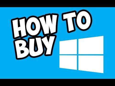 How to Buy windows 10