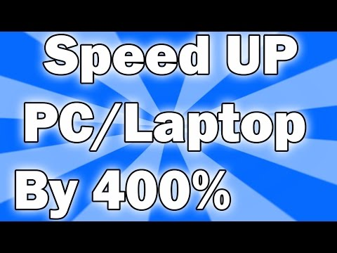 how to Speed UP PC/Laptop by 400% (