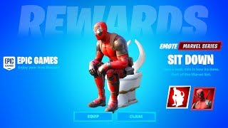 CLAIM YOUR FREE DEADPOOL EMOTE IN FORTNITE