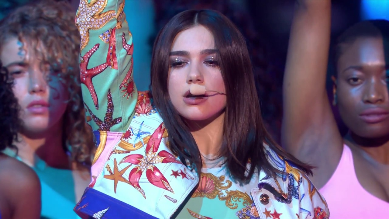 Dua Lipa - New Rules (Live at The BRIT Awards 2018)