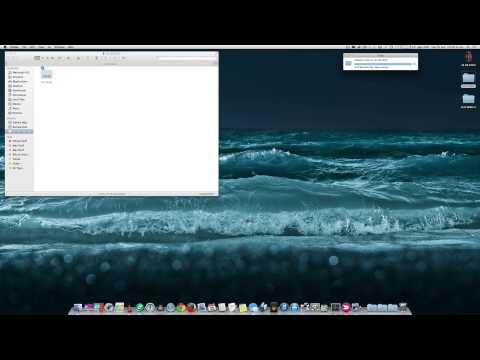 Copy, Move files or folders on a Mac