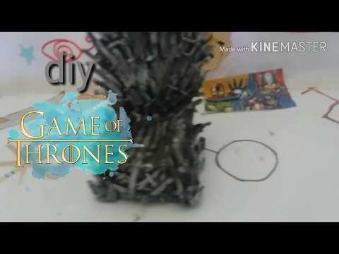 Diy trono de ferro game of thrones