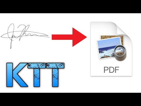 How to insert a signature into a PDF or Word Document on Mac - Kyle's Tech Tips