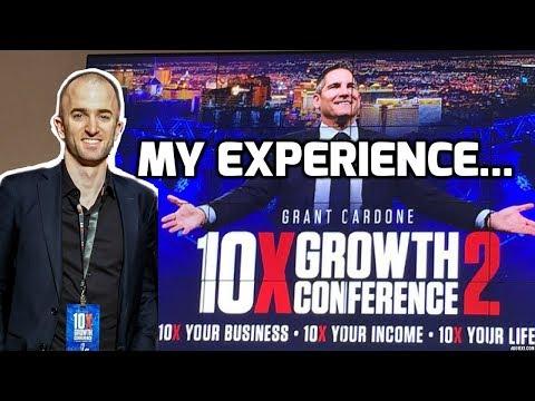 GRANT CARDONE 10X GROWTH CON 2018 | MY EXPERIENCE