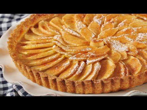 French Apple Tart Recipe Demonstration - Joyofbaking.com