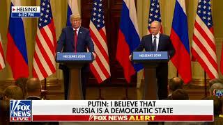 Putin Brings Up George Soros, Calls for