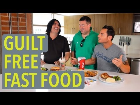 Contestants Learn Healthy Fast Food Options - Being Fat Sucks