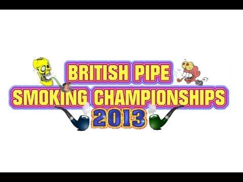 THE BRITISH PIPE SMOKING CHAMPIONSHIPS - 2013