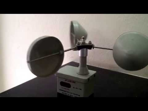 HOW ANEMOMETER WORKS..?