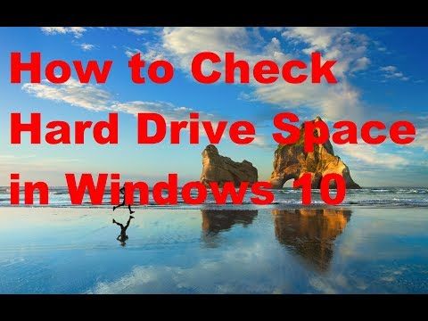 How to Check Hard Drive Space in Windows 10