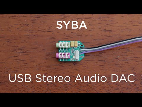 10 Minute Teardowns: What's inside the Syba USB DAC Stereo Audio Adapter?