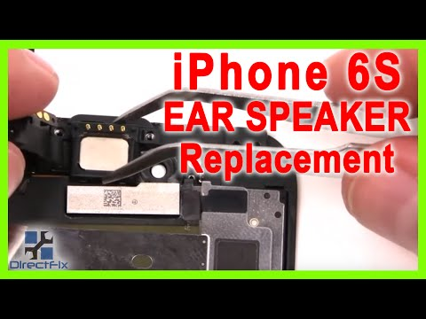 iPhone 6s Ear Speaker Replacement done in 3 Minutes