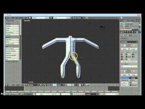 Blender - basic stick figure