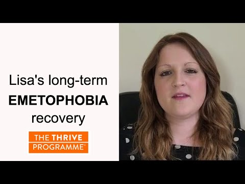 The Thrive Programme changed this lady's life - helped her with emetophobia, anxiety, alcohol issues