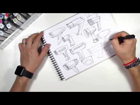 How to Sketch, Product Design doodles