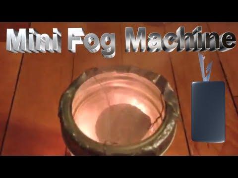 How to make a mini fog machine