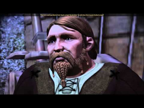 Dragon Age Origins -- First Night at Camp -- Bodahn and Sandal