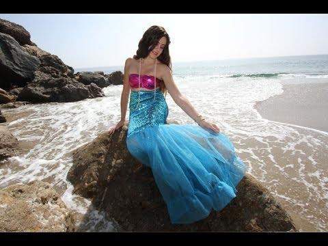 DIY Easy Halloween Costume: Mermaid || Lucykiins
