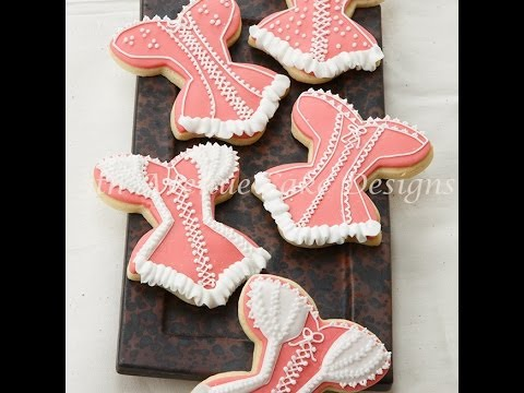 How to Decorate Lace Bridal Shower Cookie