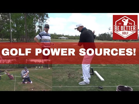 Creating power in the golf swing, upper body versus lower body W Tony Luczak, PGA
