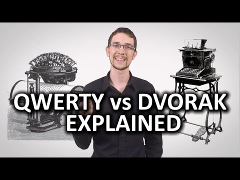 QWERTY vs Dvorak As Fast as Possible
