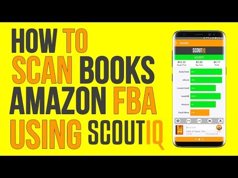 How to Sell Books on Amazon using Scout IQ | How to Scan Books for Profit on Amazon FBA
