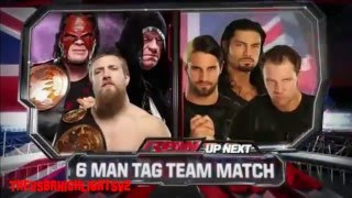 Team Hell No & The Undertaker vs The Shield Highlights HD   WWE Raw 04 22 13 HD