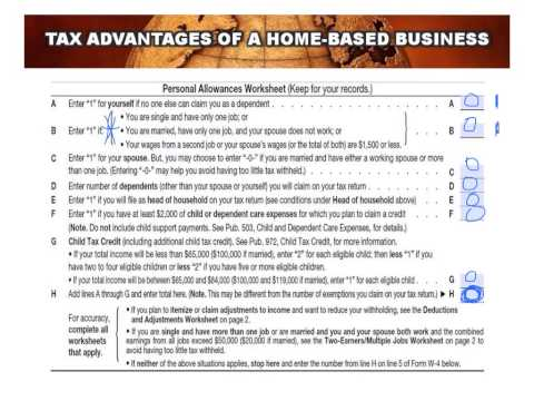 Financial IQ Training Module #1 Part 3 W4 Worksheet For Single Earners
