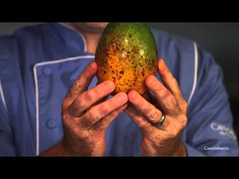 Learn how to select and cut a mango