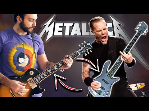 For Whom The Bell Tolls BUT Bass And Guitar Are Swapped!