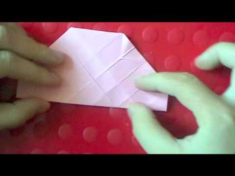 EASY origami kawasaki rose (part 1 of 2)