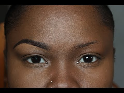 How to shape thin eyebrows | LyricRochester