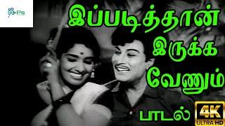இப்படித்தான் இருக்க வேணும்    Ippadithan Irukka    T. M. Soundararajan,P. Susheela  Love Duet Song