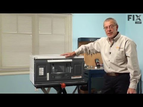Whirlpool Microwave Repair – How to replace the Light Bulb - 40W