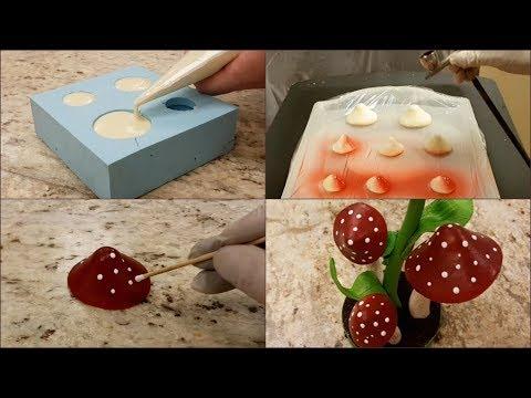 How to make chocolate mushrooms by Romainfournelchef