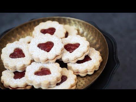 Vegan Linzer Cookies Recipe