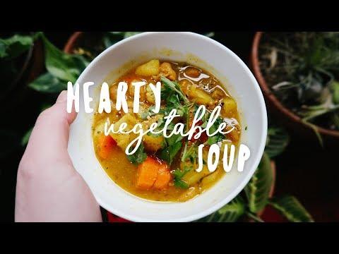 IMMUNE BOOSTING Vegetable Soup//Vegan + Easy