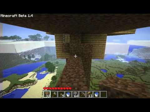 Tuto Minecraft - Construction d'un château dans le ciel (part 3)