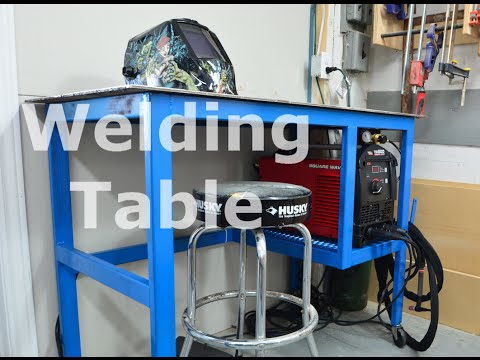 Shop built - Welding table/cart