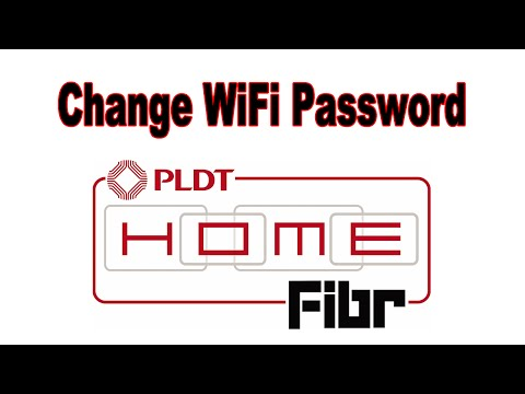 How to Change the WiFi password of PLDT Home Fibr router